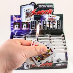 accendino ventaglio di carte