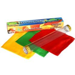 crystal tube, foulard che si annodano