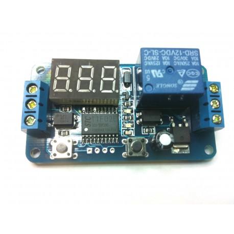 Timer temporizzatore digitale programmabile con display e for Temporizzatore per irrigazione