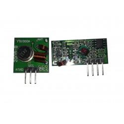 trasmettitore e ricevitore radio 433mhz, wireless kit