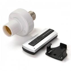 portalampada E27 accensione radiocomandata wireless