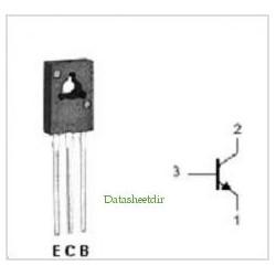 BC368 Transistor NPN 25V - 1A - 0.8W