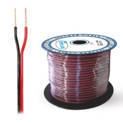 piattina polarizzata cavo rosso nero 2x0,35