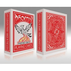 phoenix back, playing card, mazzo di carte.