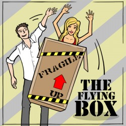 flyng box illusion, antigravity box