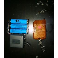 radiocomando 1 canale autoalimentato litio