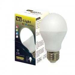 lampadina 6w rgbw bianca più colorata wireless 2.4ghz