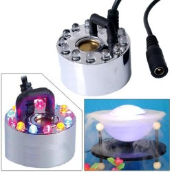 Vaporizzatore nebulizzatore ad ultrasuoni con led