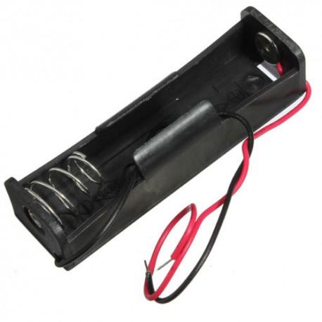portabatteria per batterie litio grandi 18650 pila