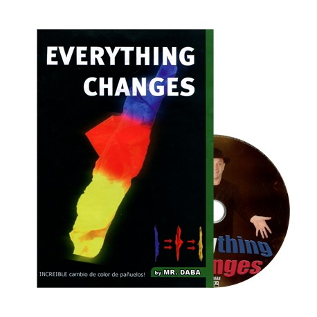 Everything Changes by Mr Daba foulard cambiacolore