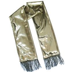 sciarpa cambiacolore oro, chamaleon silk