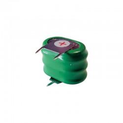 batteria ovale nimh 3.6V 170 MAH