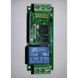 radiocomando 433mhz 4ch wireless, controllo remoto 5-15v