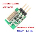 trasmettitore wireless 315mhz