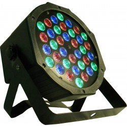 par led slim 18 led da 3w rgb