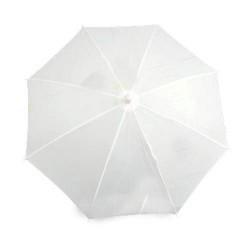 parasol ombrellino ad apparizione bianco
