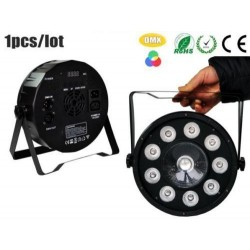 par led slim 36 led alta luminosità rgb dmx