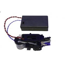 macchina sparabolle micro con portabatterie