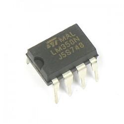LM358 amplificatore operazionale doppio