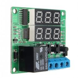 timer temporizzatore digitale programmabile con display e relè