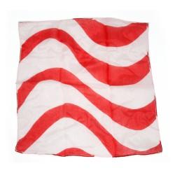 Silk candy 18cm bianco e rosso