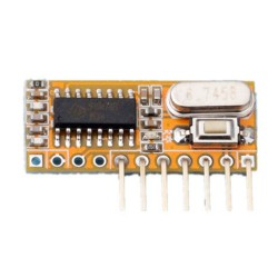 RXC6 433Mhz Superheterodyne Wireless Receiver PT2262 Code Steady for Arduino/AVR