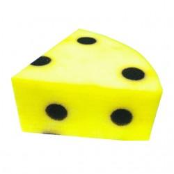 mouse to cheese, topo in formaggio di spugna