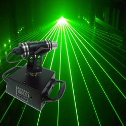 mini testa mobile laser green monster DMX