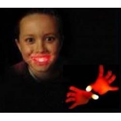 luci dalla bocca colore morph