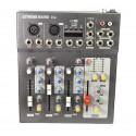 mixer audio 4 ch mp3 fx