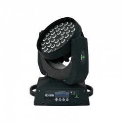 testa mobile 36x10w led CREE RGBW con zoom