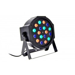par led slim 18 led da 1w rgb