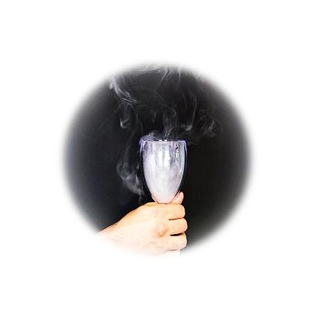 fumo nel bicchiere