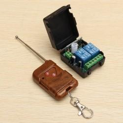 kit radiocomando 2 canali universale per controllo a distanza
