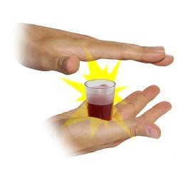 sparizione bicchiere pieno