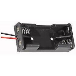 portabatterie per 2 stilo AA