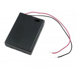 portabatterie per 2 ministilo AAA