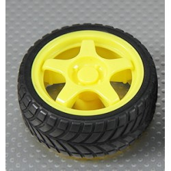 ruota per motori ridotti, wheel
