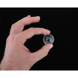 sfera trasparente acrilico, bolla di sapone 30mm