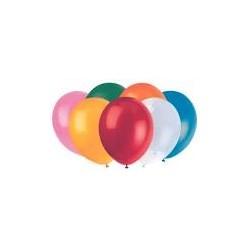palloncini tondi 20cm colori assortiti 100pz
